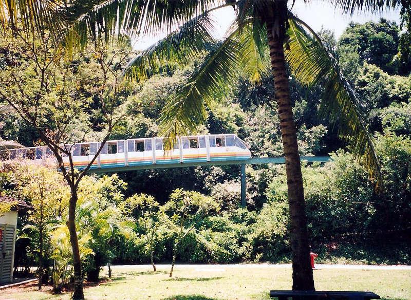 ユーラシア大陸鉄道横断旅行 Go West!1996その85・シンガポール・セントーサ島-8510