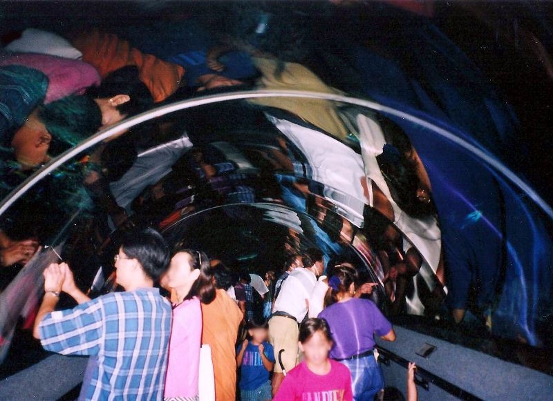 ユーラシア大陸鉄道横断旅行 Go West!1996その85・シンガポール・セントーサ島-8513