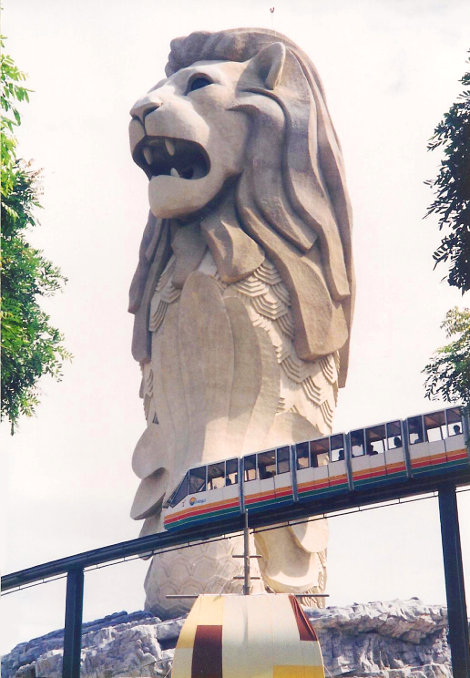 ユーラシア大陸鉄道横断旅行 Go West!1996その85・シンガポール・セントーサ島-8520