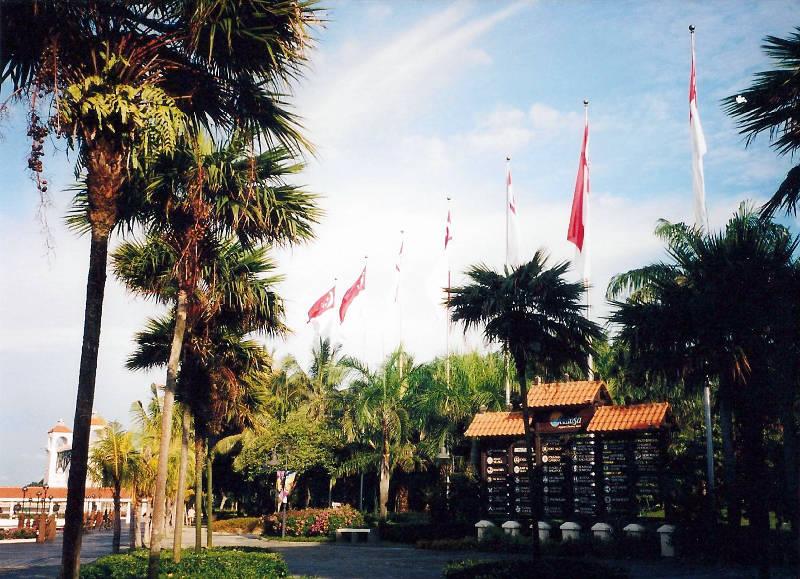 ユーラシア大陸鉄道横断旅行 Go West!1996その85・シンガポール・セントーサ島-8521
