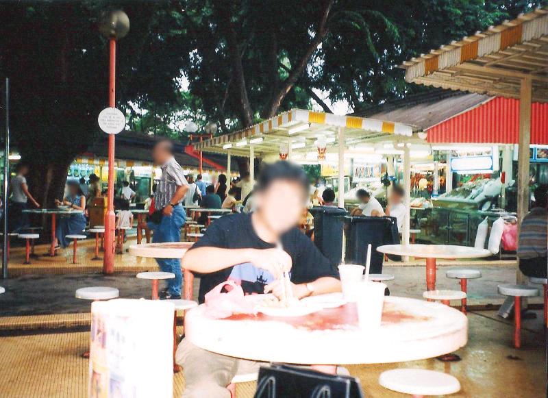 ユーラシア大陸鉄道横断旅行 Go West!1996その86・シンガポール・街歩き-8604