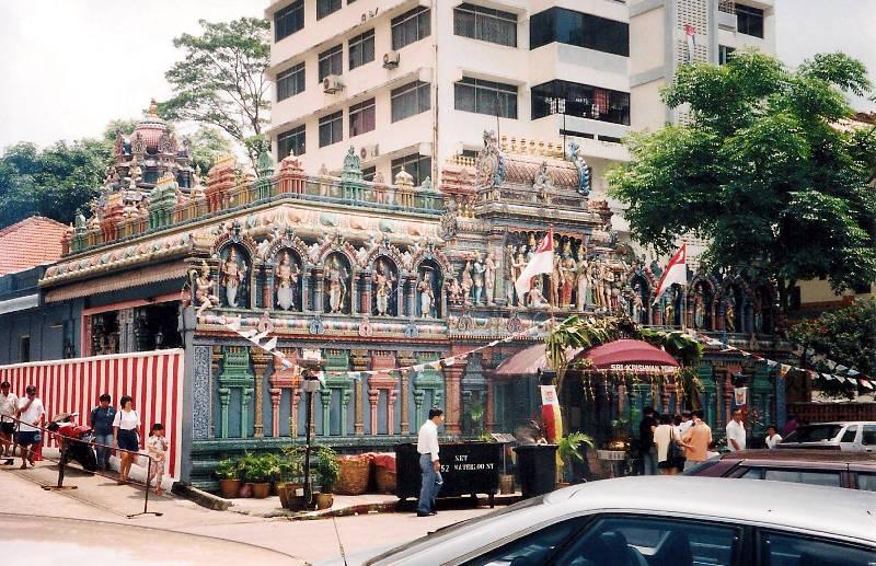 ユーラシア大陸鉄道横断旅行 Go West!1996その87・シンガポール・街歩きと夜行列車-8702