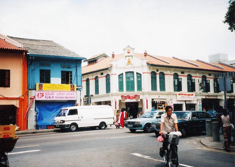 ユーラシア大陸鉄道横断旅行 Go West!1996その87・シンガポール・街歩きと夜行列車-8704