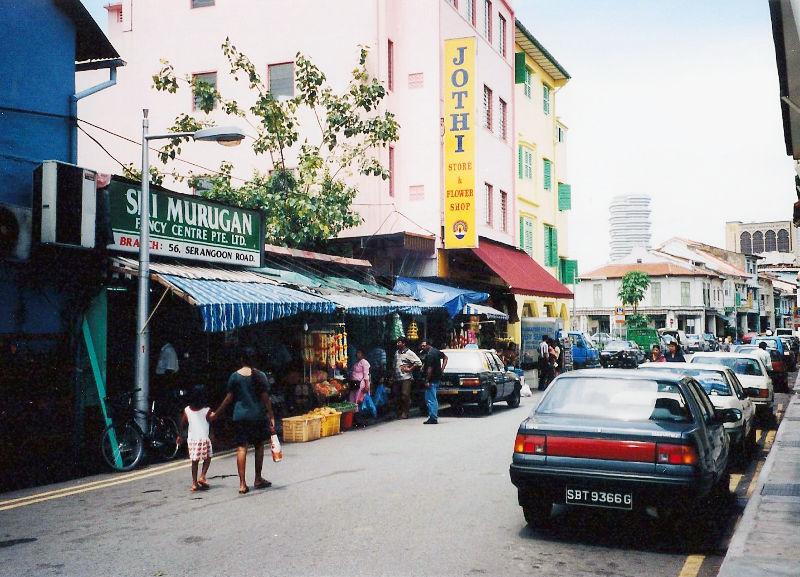 ユーラシア大陸鉄道横断旅行 Go West!1996その87・シンガポール・街歩きと夜行列車-8705