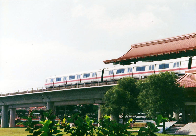 ユーラシア大陸鉄道横断旅行 Go West!1996その87・シンガポール・街歩きと夜行列車-8710