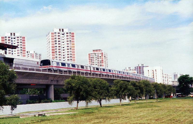 ユーラシア大陸鉄道横断旅行 Go West!1996その87・シンガポール・街歩きと夜行列車-8711