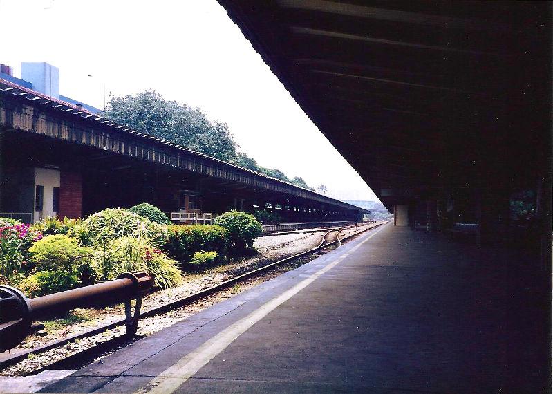 ユーラシア大陸鉄道横断旅行 Go West!1996その87・シンガポール・街歩きと夜行列車-8723