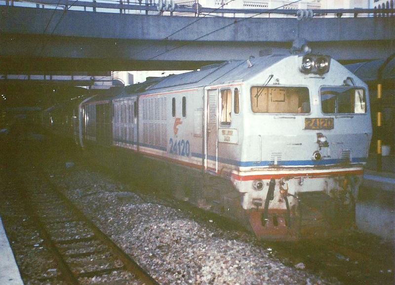 ユーラシア大陸鉄道横断旅行 Go West!1996その87・シンガポール・街歩きと夜行列車-8724