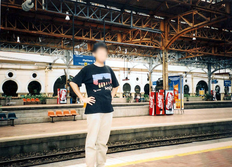 ユーラシア大陸鉄道横断旅行 Go West!1996その90・クアラルンプールからシンガポールへ-9003