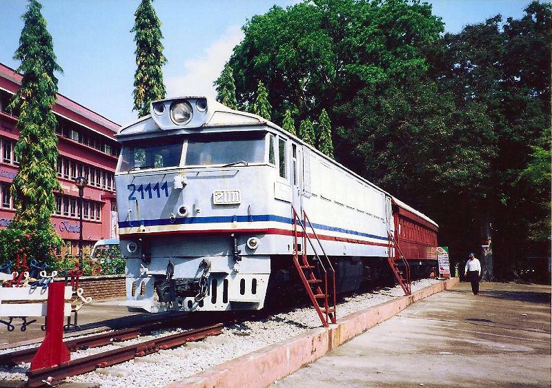 ユーラシア大陸鉄道横断旅行 Go West!1996その90・クアラルンプールからシンガポールへ-9005