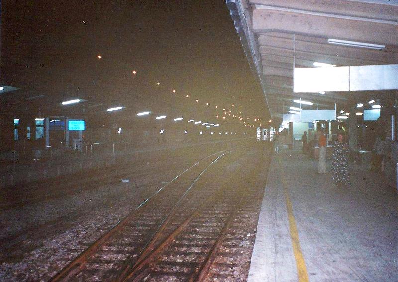 ユーラシア大陸鉄道横断旅行 Go West!1996その90・クアラルンプールからシンガポールへ-9007