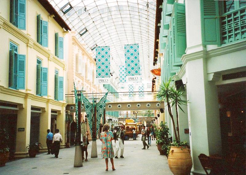 ユーラシア大陸鉄道横断旅行 Go West!1996その91・シンガポール・街歩きと最後の晩餐-9104