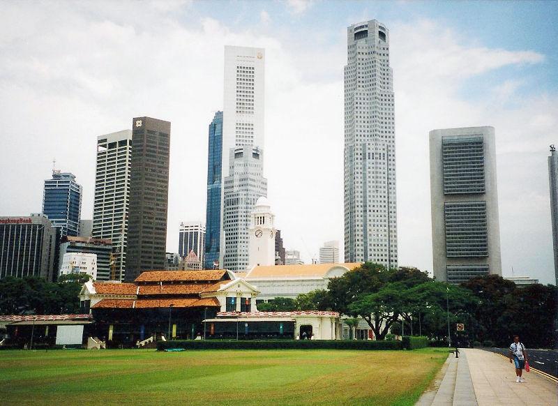 ユーラシア大陸鉄道横断旅行 Go West!1996その91・シンガポール・街歩きと最後の晩餐-9109