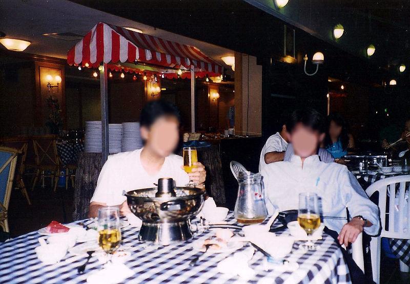 ユーラシア大陸鉄道横断旅行 Go West!1996その91・シンガポール・街歩きと最後の晩餐-9112