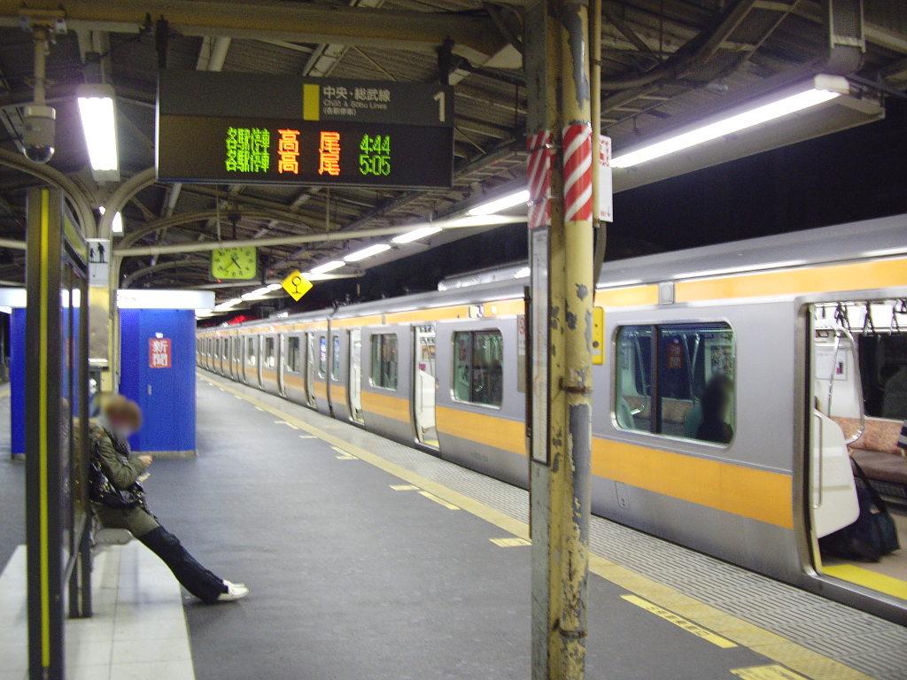 はるかなる北陸路・その1・青春18きっぷで東京から金沢へ2009冬-1103