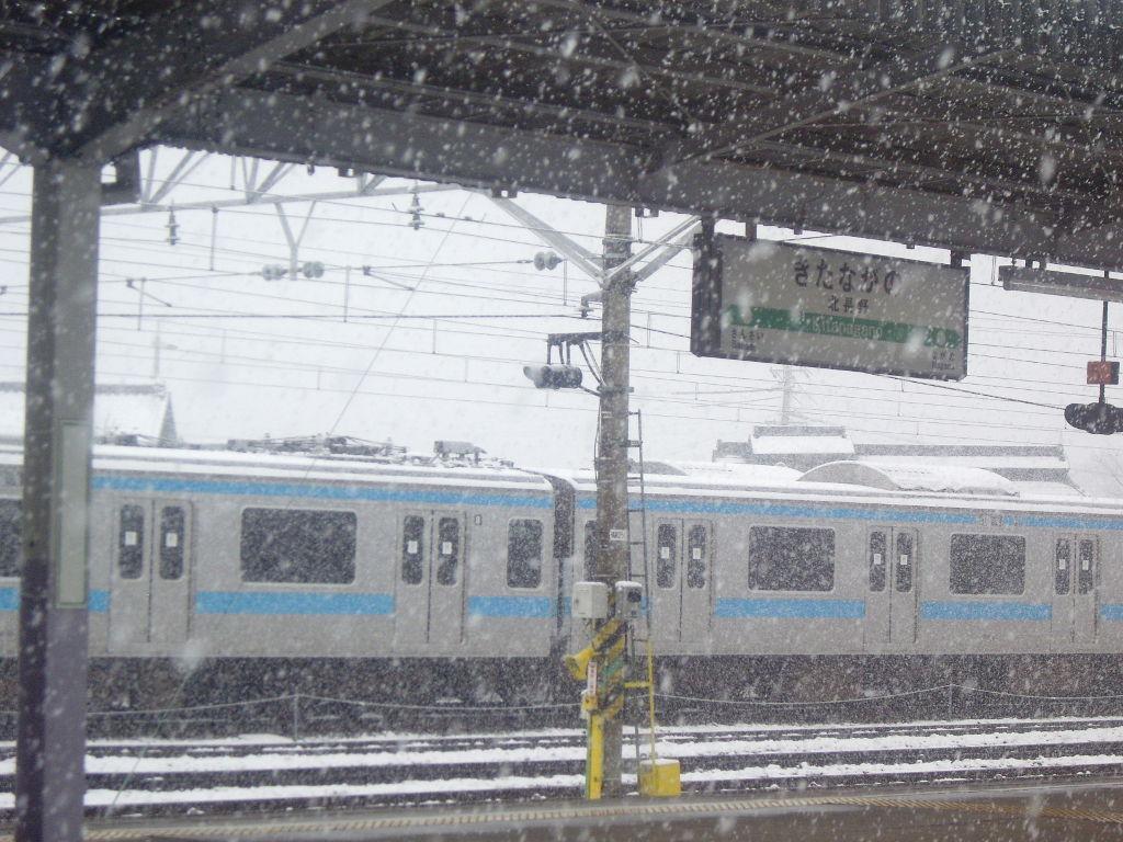 はるかなる北陸路・その1・青春18きっぷで東京から金沢へ2009冬-1116