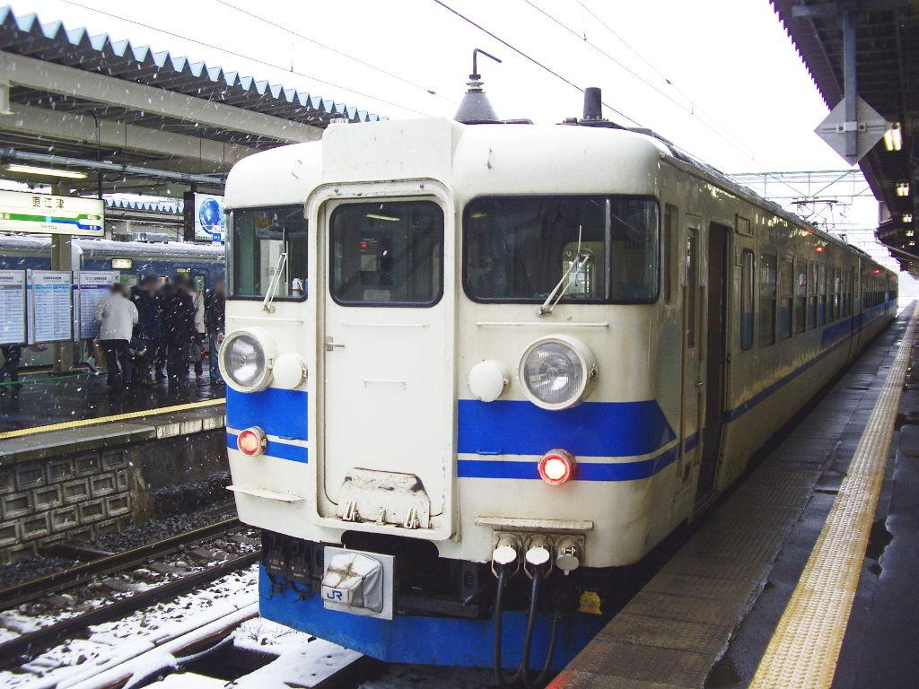はるかなる北陸路・その1・青春18きっぷで東京から金沢へ2009冬-1121