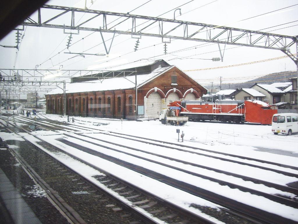 はるかなる北陸路・その1・青春18きっぷで東京から金沢へ2009冬-1128