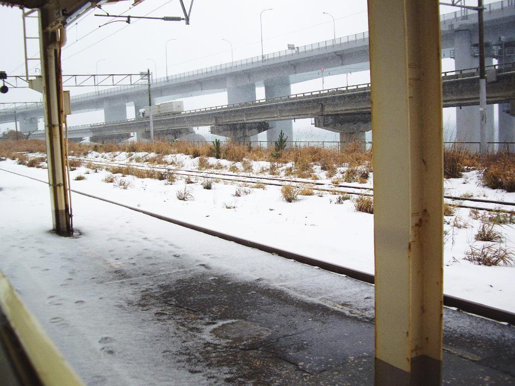 はるかなる北陸路・その1・青春18きっぷで東京から金沢へ2009冬-1129