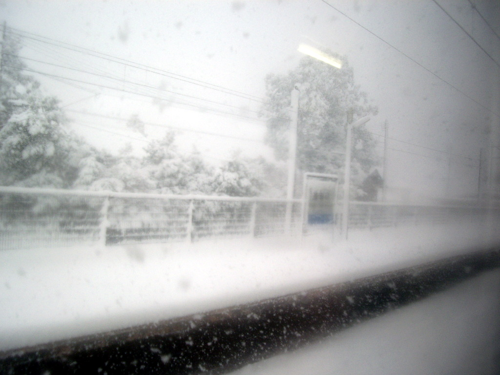 はるかなる北陸路・その1・青春18きっぷで東京から金沢へ2009冬-1130