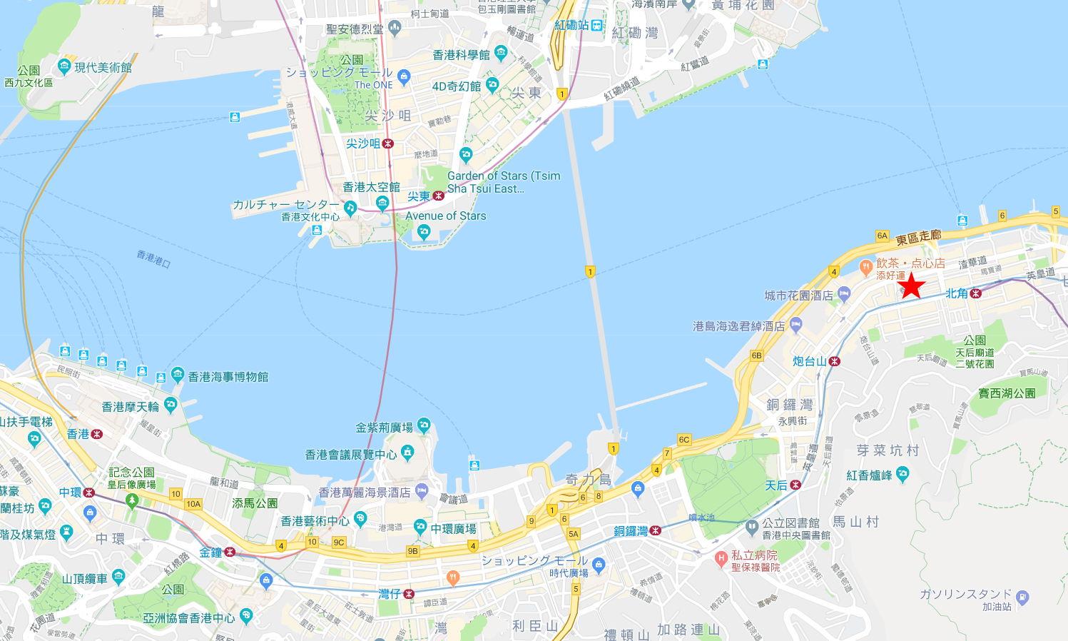 香港・小心地滑友の会 その2・春秧街の二階建てトラム2007夏-0203