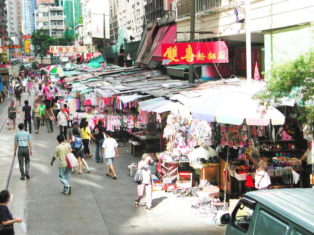 香港・小心地滑友の会 その2・春秧街の二階建てトラム2007夏-0213