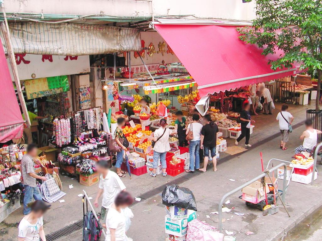 香港・小心地滑友の会 その2・春秧街の二階建てトラム2007夏-0215