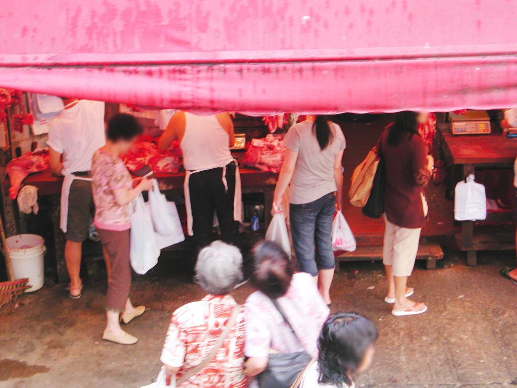 香港・小心地滑友の会 その2・春秧街の二階建てトラム2007夏-0217