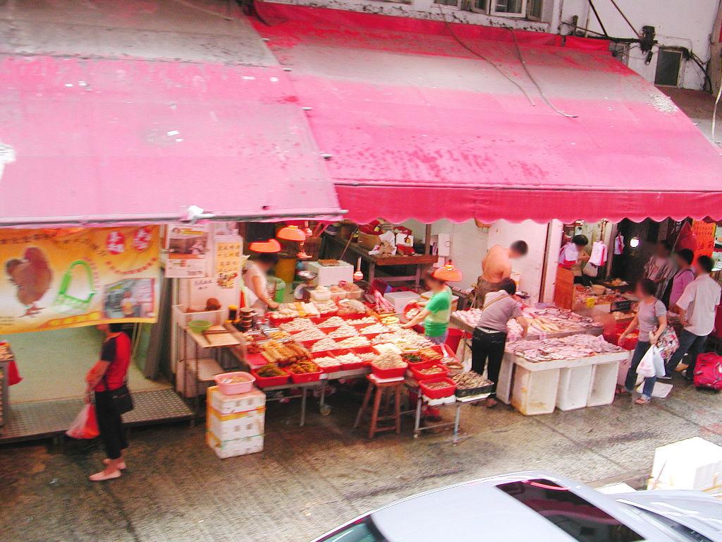 香港・小心地滑友の会 その2・春秧街の二階建てトラム2007夏-0218