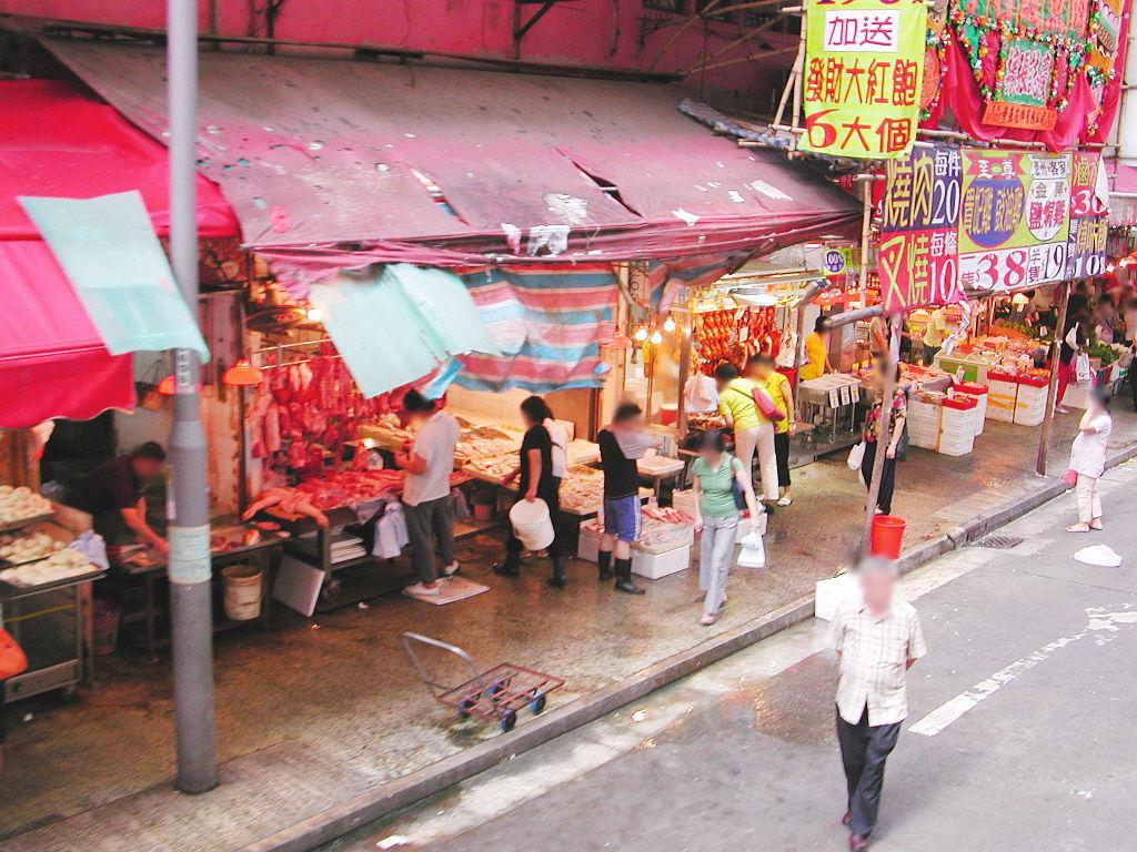 香港・小心地滑友の会 その2・春秧街の二階建てトラム2007夏-0219
