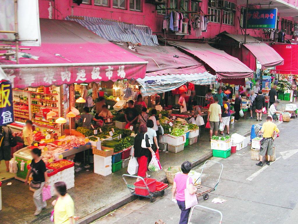 香港・小心地滑友の会 その2・春秧街の二階建てトラム2007夏-0220