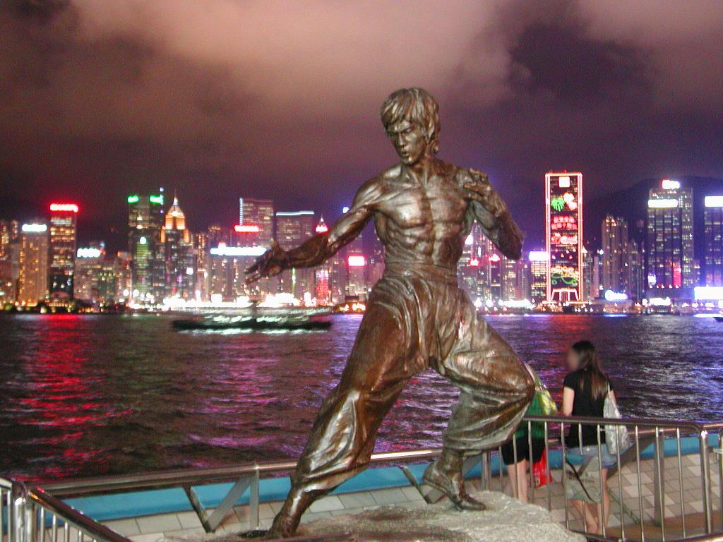香港・小心地滑友の会 その3・ピークトラム(山頂)と夜景2008秋-0303