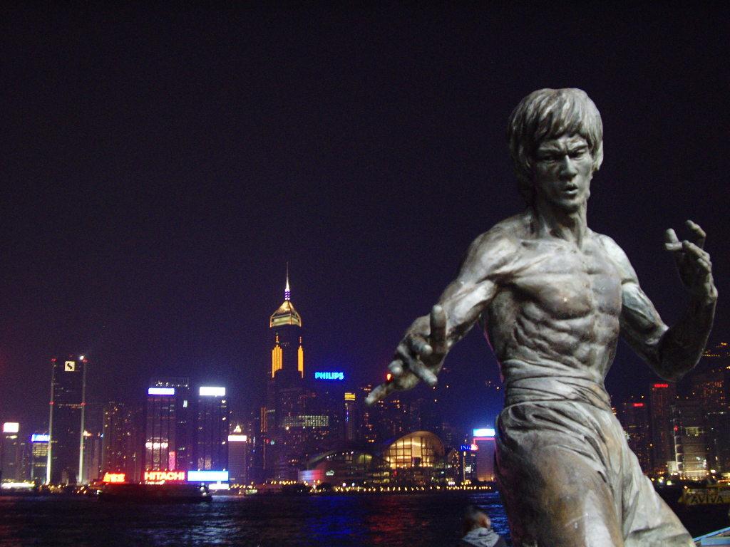 香港・小心地滑友の会 その3・ピークトラム(山頂)と夜景2008秋-0304