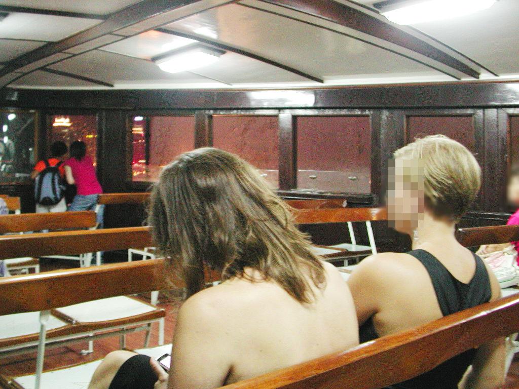 香港・小心地滑友の会 その3・ピークトラム(山頂)と夜景2008秋-0306