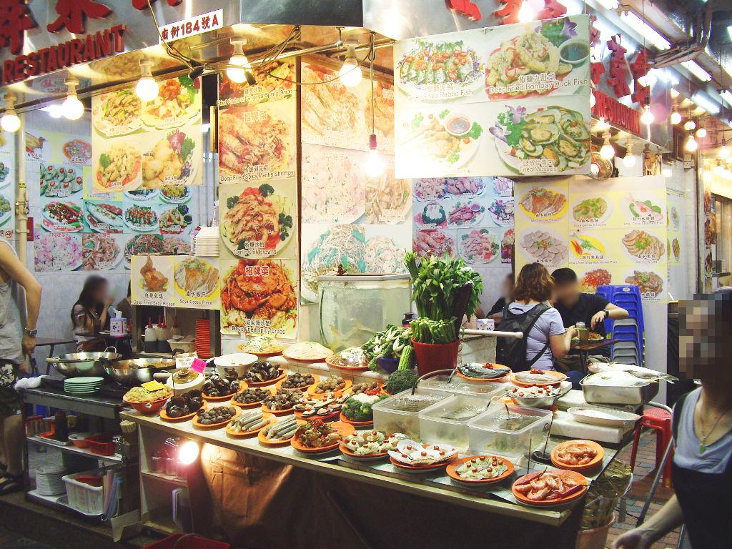 香港・小心地滑友の会 その17・廟街の堂泰海鮮菜館2018春-1709