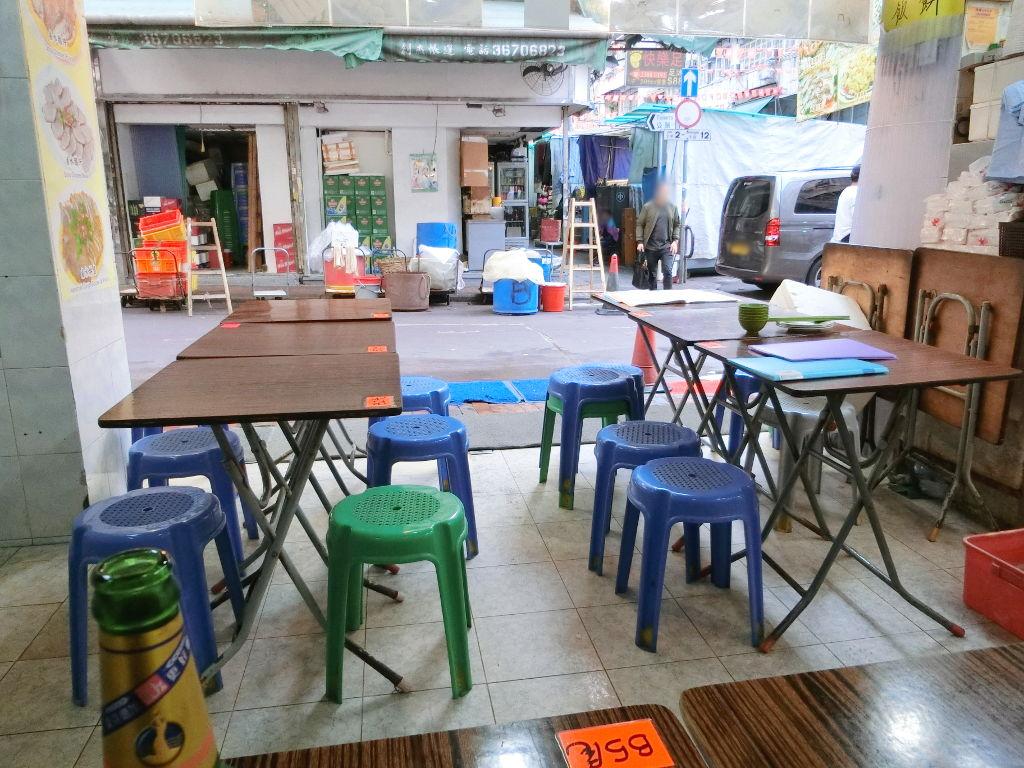 香港・小心地滑友の会 その17・廟街の堂泰海鮮菜館2018春-1718