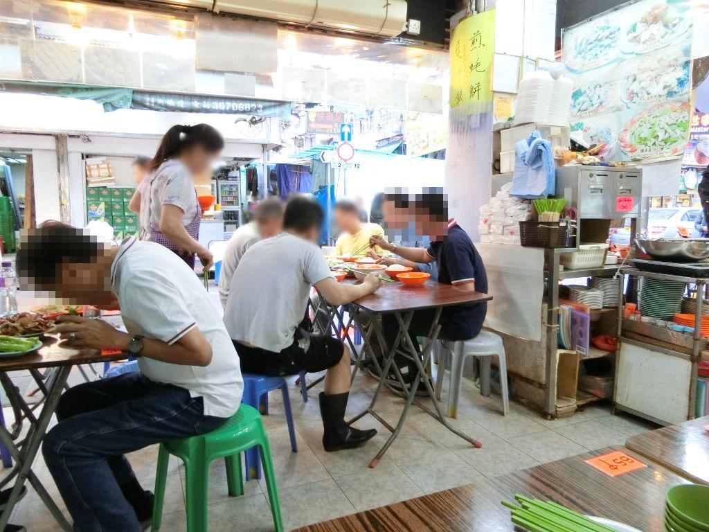 香港・小心地滑友の会 その17・廟街の堂泰海鮮菜館2018春-1719