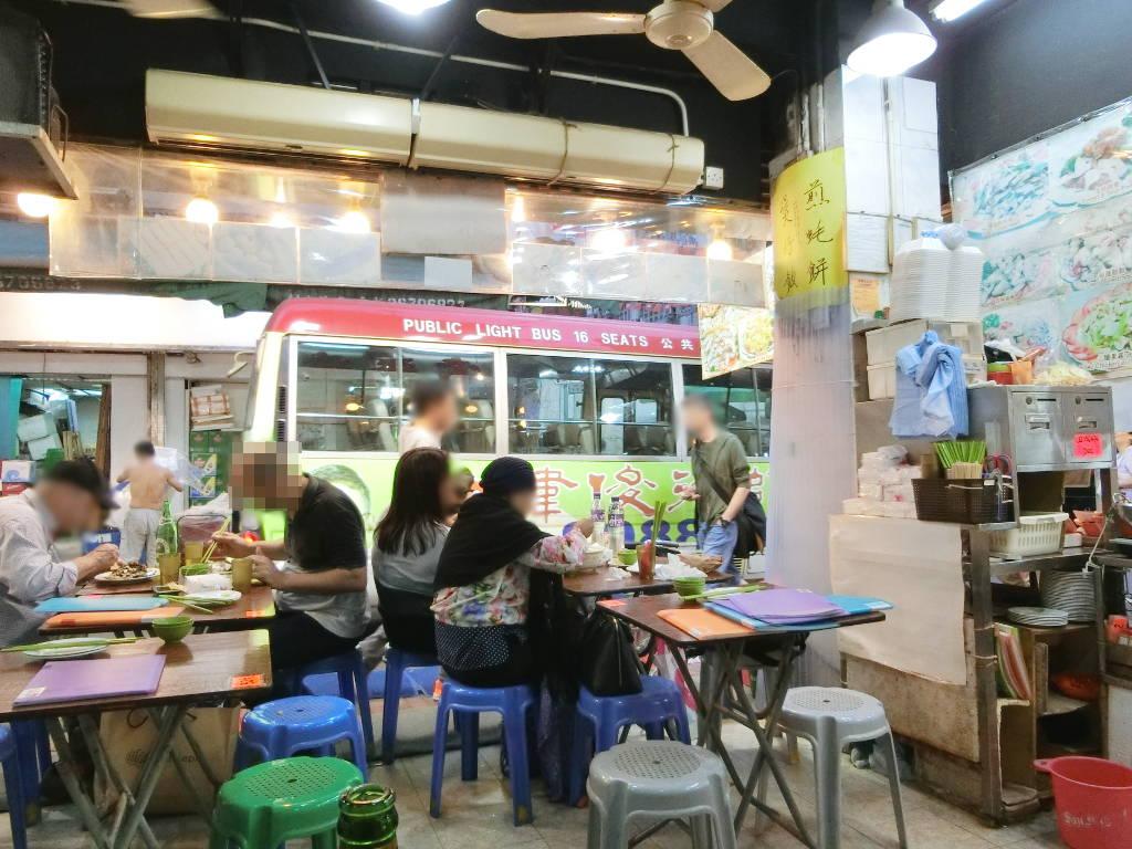 香港・小心地滑友の会 その17・廟街の堂泰海鮮菜館2018春-1734