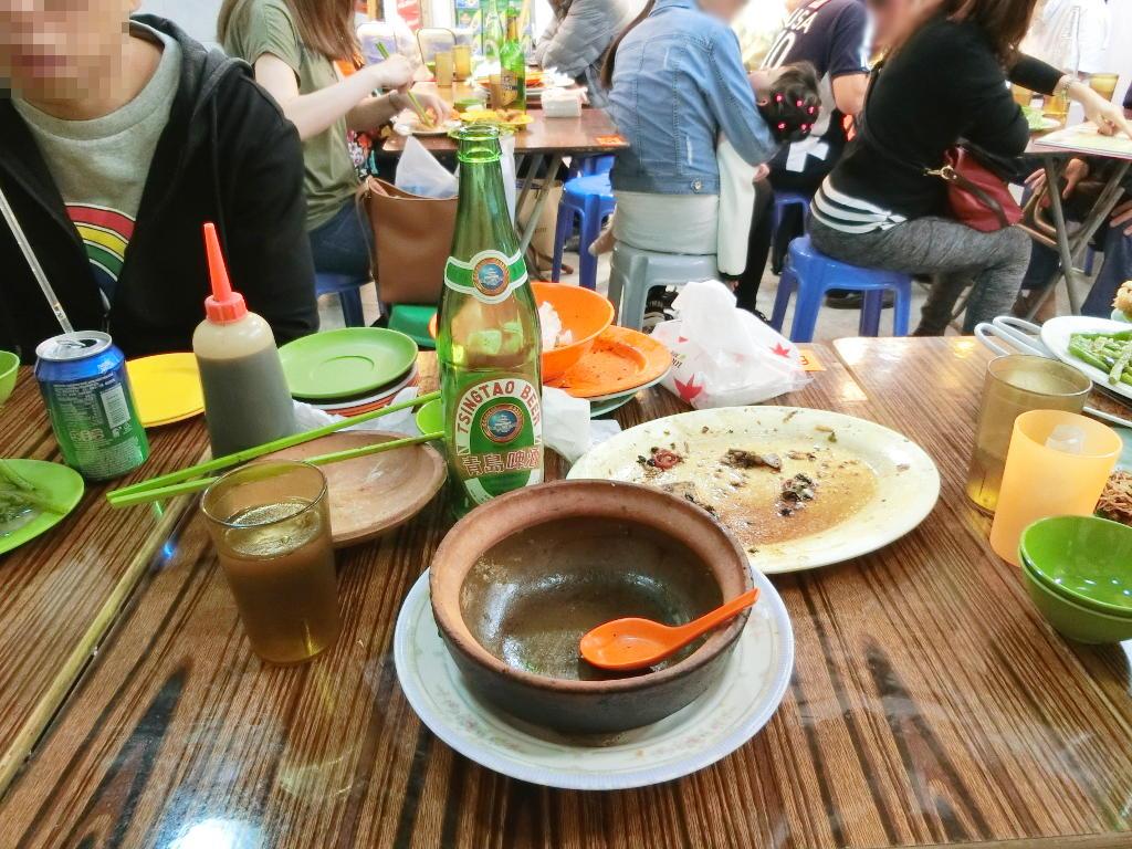 香港・小心地滑友の会 その17・廟街の堂泰海鮮菜館2018春-1740