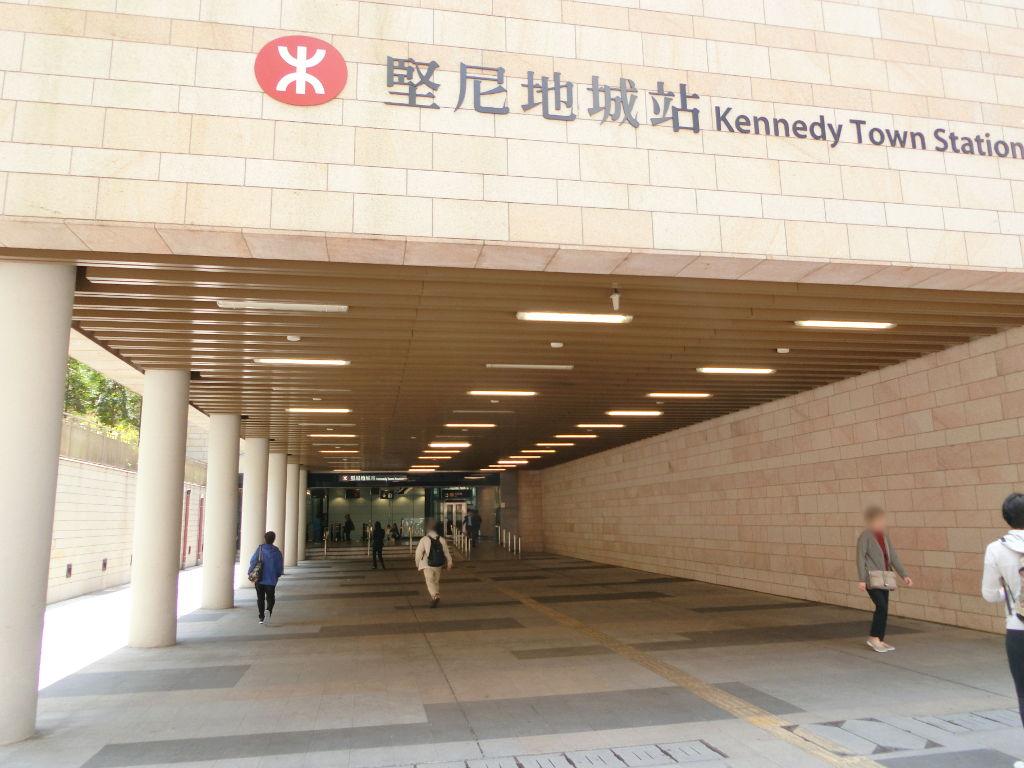 香港・小心地滑友の会 その18・地下鉄新線探検・南港島綫2018春-1810