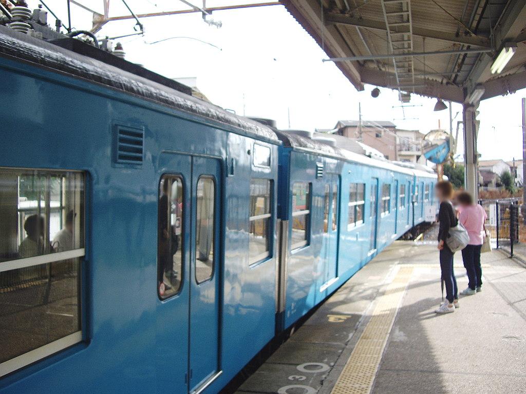 大阪・JR最短の区間列車・羽衣線2013夏-8003