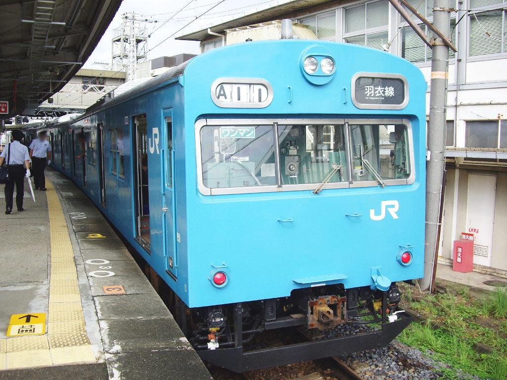 大阪・JR最短の区間列車・羽衣線2013夏-8004