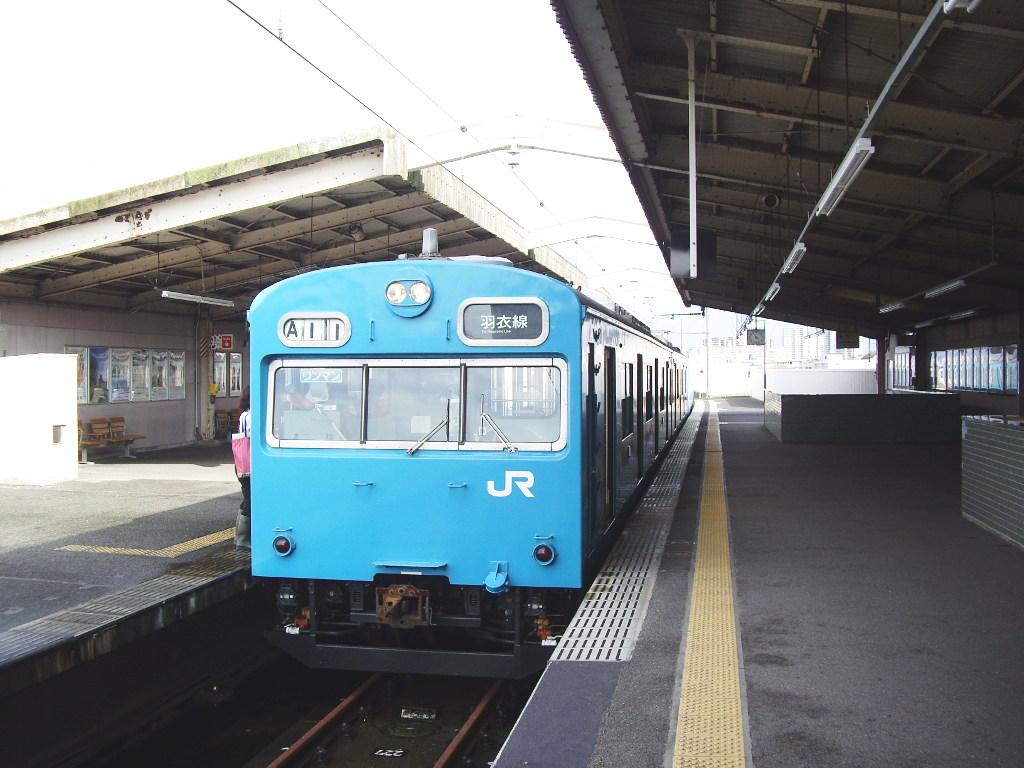 大阪・JR最短の区間列車・羽衣線2013夏-8007