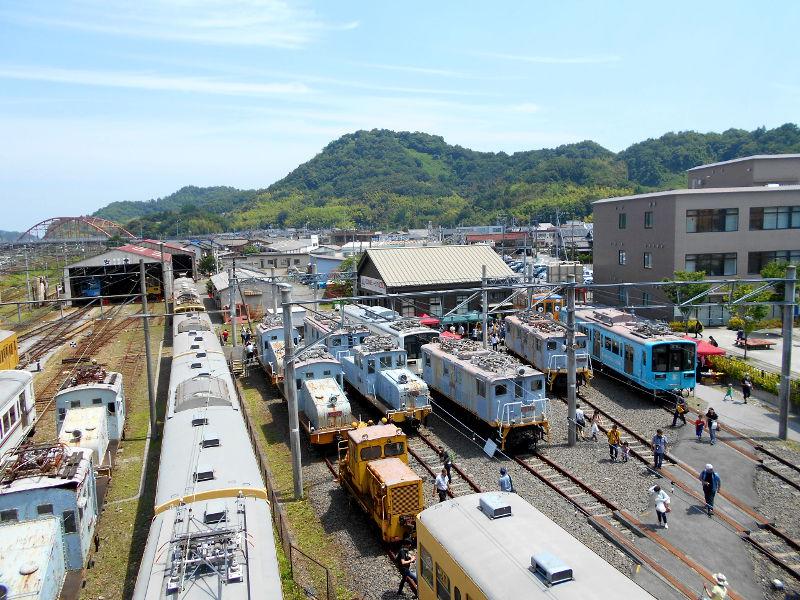 近江鉄道がちゃこんまつり2016-1206