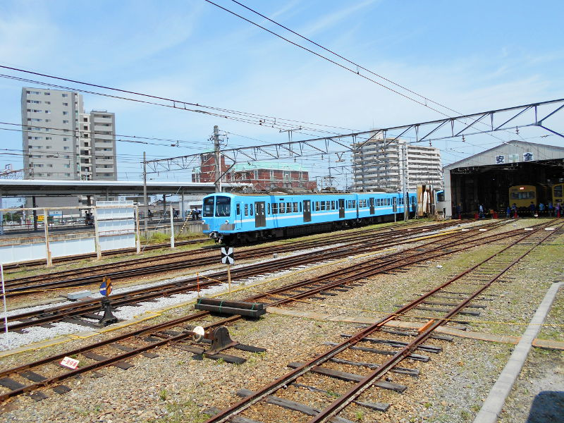近江鉄道がちゃこんまつり2016-1228