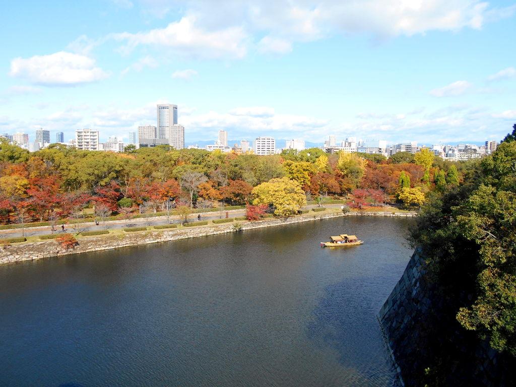 紅葉の大阪城2017秋-1108