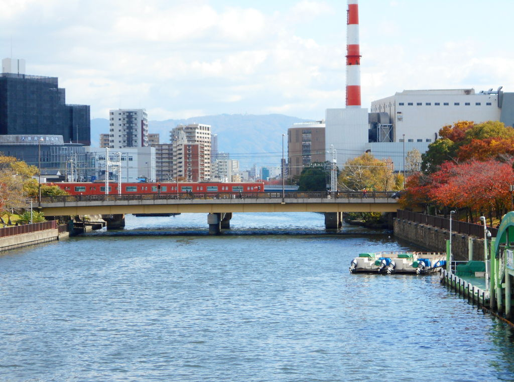 紅葉の大阪城2017秋-1113