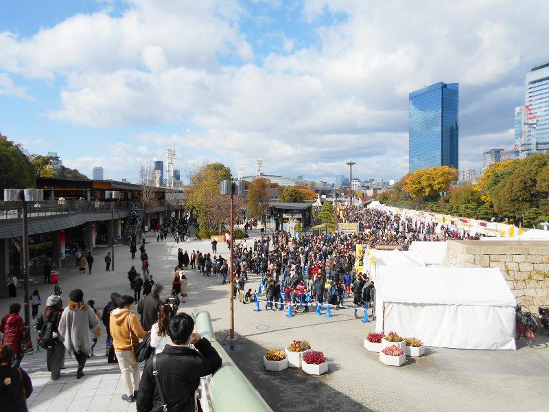 紅葉の大阪城2017秋-1116