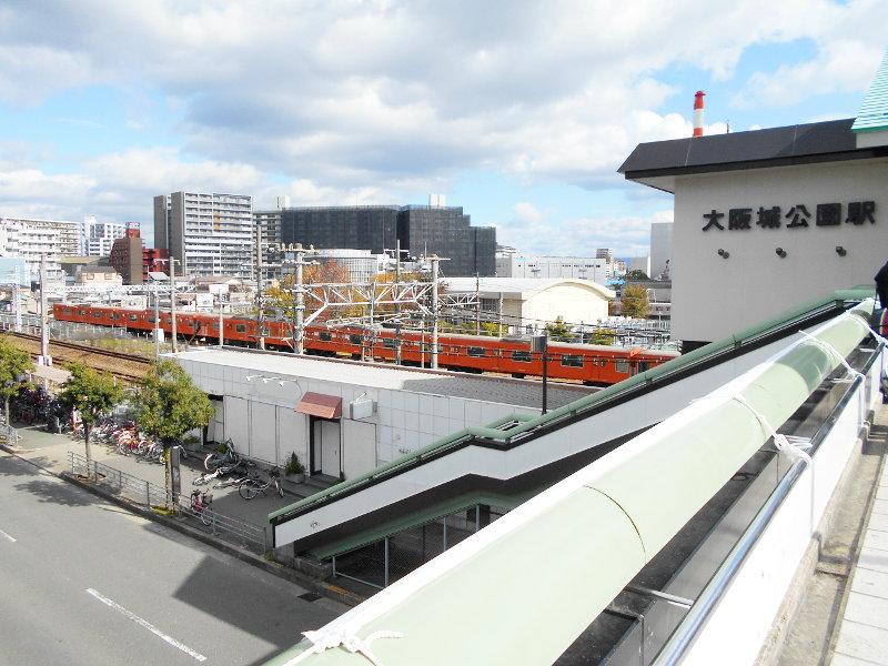 紅葉の大阪城2017秋-1117