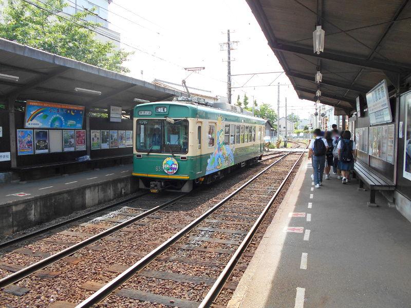 京都・嵐電に乗って龍安寺2017-2012